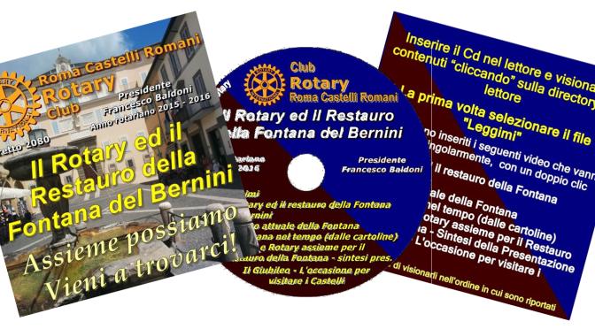 Un CD per a supporto del restauro della fontana