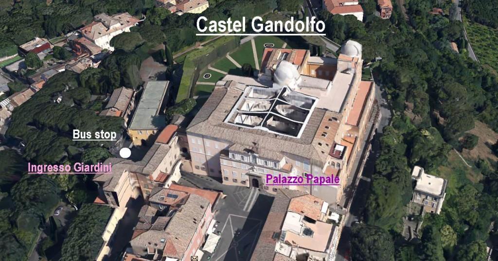 Piazza Liberta' Castel Gandolfo